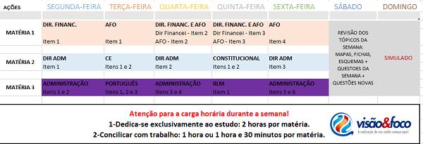 Edital TCM-RJ e Plano de Estudos