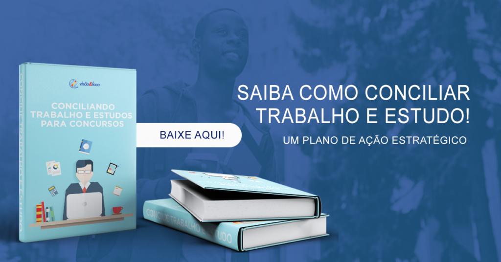 Ebook Como conciliar trabalho e estudo